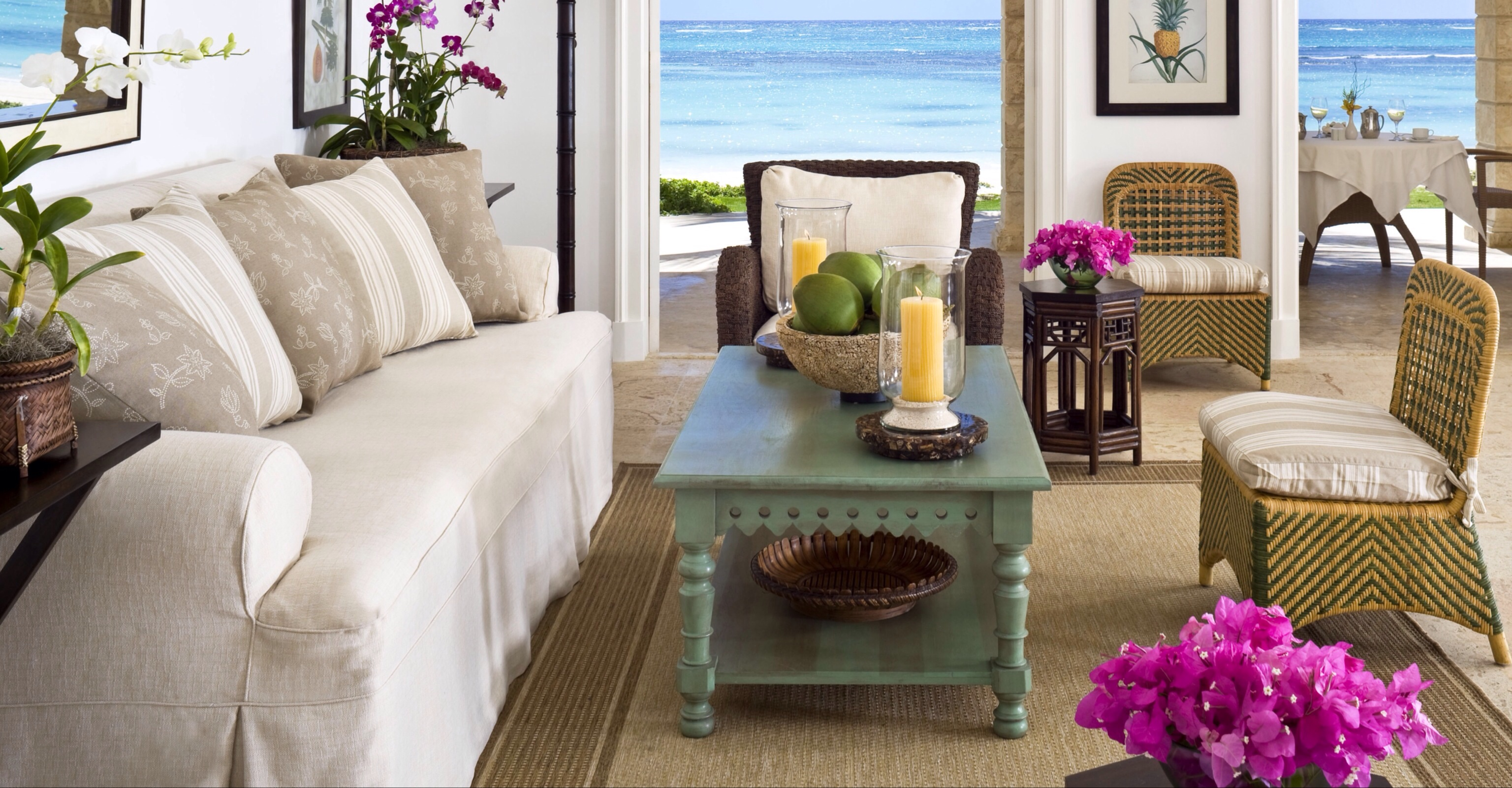 Interior design tips for vacation homes for Vacation home interior design
