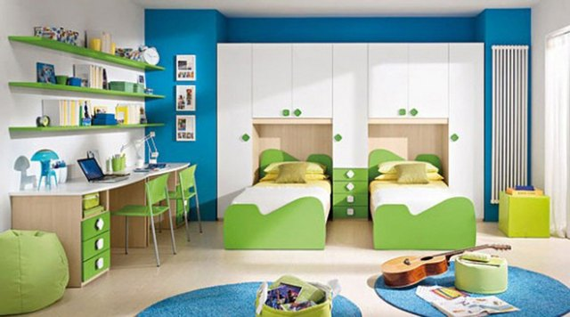 Interior design ideas for children s bedrooms for Interior designs for kids